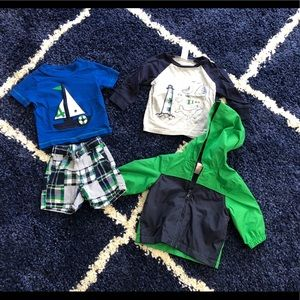 Boys Gymboree Outfit & Spring Jacket